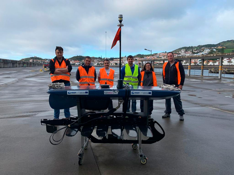 WAVE GLIDER OF PLOCAN FLEET NAVIGATES FROM AZORES TO CANARY ISLANDS WITHIN THE FRAMEWORK OF IFADO PROJECT