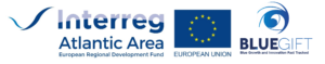 Blue-GIFT logo with Interreg AA